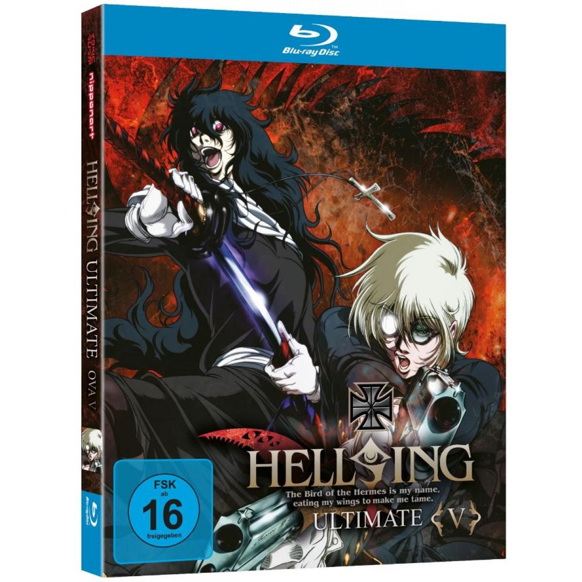 Hellsing Ultimate OVA Vol 5 Blu Ray Edition Optional Mit