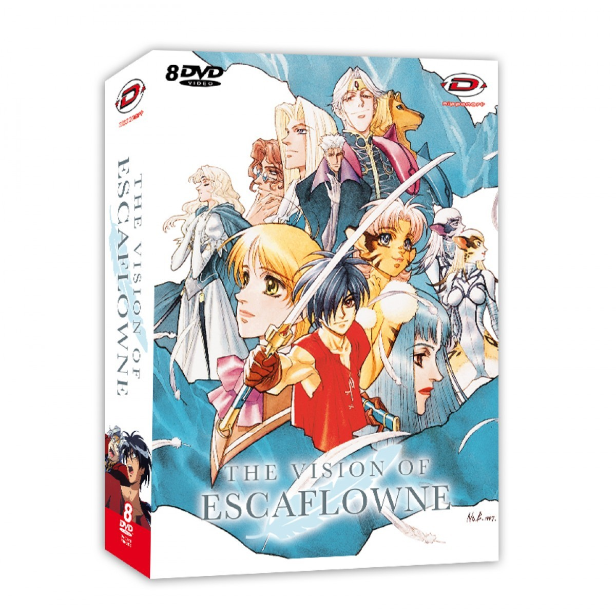 Escaflowne Collectors Edition 8 DVDS
