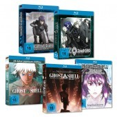 Ghost in the Shell SAC & Movie MEGA-BUNDLE Blu-Ray