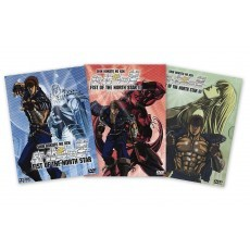 Fist of the North Star OVA 3er DVD Komplett-Set Amaray*