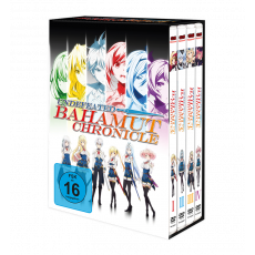 Undefeated Bahamut Chronicle – Komplett-Set inkl. Sammelschuber - DVD-Edition