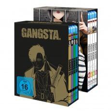 Prison School & GANGSTA. – Komplett-Sets inkl. Sammelschuber - Bundle - Blu-ray-Edition