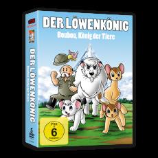 Boubou, König der Tiere (Kimba) - DVD-Box (VÖ: 29.06.2018!)