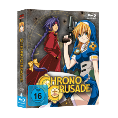 Chrono Crusade - Gesamtausgabe Blu-Ray-Edition (VÖ: 29.09.2017!)