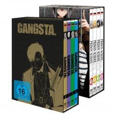 Prison School & GANGSTA. – Komplett-Sets inkl. Sammelschuber - Bundle - DVD-Edition