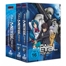 Full Metal Panic! Mega-Bundle DVD (FMP! + Fumoffu + 2nd Raid)