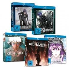 Ghost in the Shell SAC & Movie MEGA-BUNDLE Blu-Ray