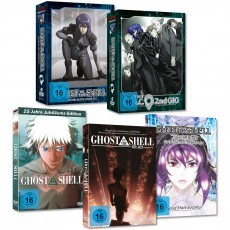 Ghost in the Shell SAC & Movie MEGA-BUNDLE DVD