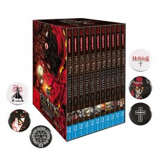 Hellsing Ultimate OVA - MEGA BUNDLE im Schuber Blu-ray - Edition inkl. 6 Hellsing Buttons!