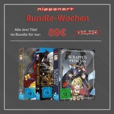 Nipponart Aktions-Bundle Blu-Ray (Chrono Crusade, Trinity Blood & Scrapped Princess)