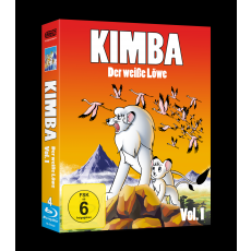 Kimba, der weiße Löwe (1965-1966)  Vol. 1 Blu Ray (VÖ: 29.09.2017!)