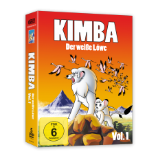 Kimba, der weiße Löwe (1965-1966)  Vol. 1 DVD (VÖ: 24.11.2017!)