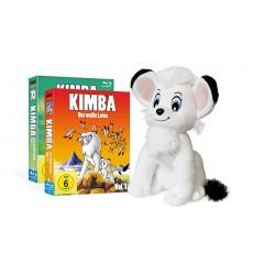 Kimba, der weiße Löwe (1965-1966) Blu-ray Bundle inkl. Stofftier