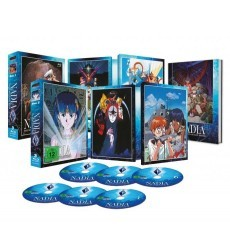 Nadia - The Secret of Blue Water - Collector's Edition Vol. 1+2 Blu-ray Bundle