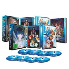 Nadia - The Secret of Blue Water - Collector's Edition Vol. 1+2 DVD Bundle
