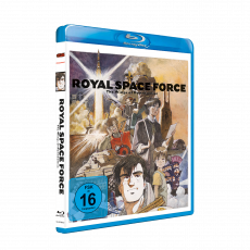 Royal Space Force - Wings of Honnêamise Blu-ray (VÖ: 23.03.2020!)