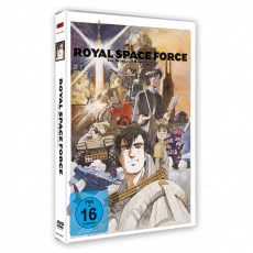 Royal Space Force - Wings of Honnêamise DVD (VÖ: 23.03.2020!)