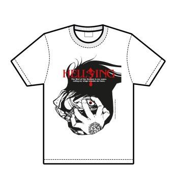 Hellsing Alucard-T-Shirt, weiß