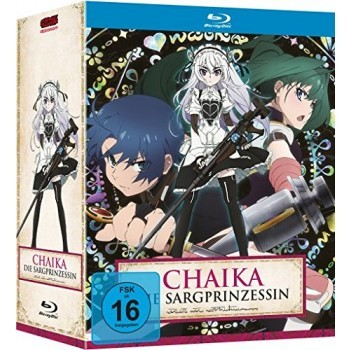 Chaika - Die Sargprinzessin – Vol. 1-4 Komplett-Set inkl. Sammelschuber - Blu Ray-Edition