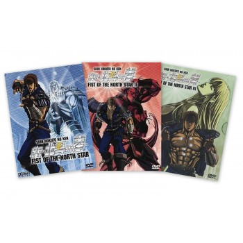 Fist of the North Star OVA 3er DVD Komplett-Set DigiPack*