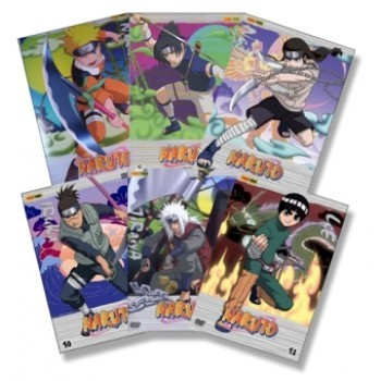 Naruto Set 2 / Vol. 7 bis 12
