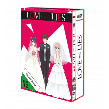 Love and Lies Vol. 3 DVD inkl. Sammelschuber (VÖ: 22.02.2019!)