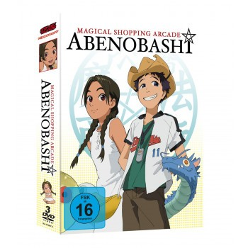 Magical Shopping Arcade Abenobashi DVD-Gesamtausgabe