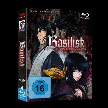Basilisk - Chronik der Koga-Ninja Gesamtausgabe Blu-ray