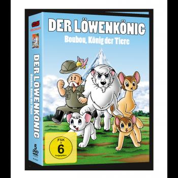 Boubou, König der Tiere (Kimba) - DVD-Box (VÖ: 26.01.2018!)