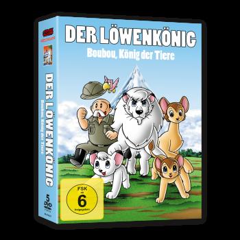 Boubou, König der Tiere (Kimba) - DVD-Box (VÖ: 30.03.2018!)