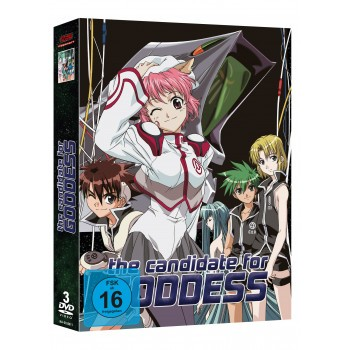 The Candidate for Goddess - Gesamtausgabe DVD