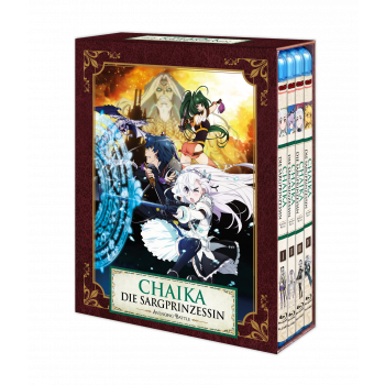 Chaika - Die Sargprinzessin - Avenging Battle (Staffel 2) – Vol. 1-4 Komplett-Set inkl. Sammelschuber - Blu-ray-Edition