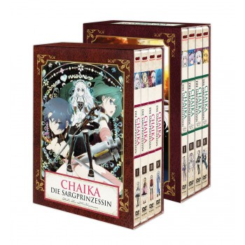 Chaika - Die Sargprinzessin & Avenging Battle (Staffel 1 & 2) – Komplett-Set - DVD-Edition