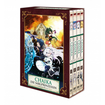 Chaika - Die Sargprinzessin - Avenging Battle (Staffel 2) – Vol. 1-4 Komplett-Set inkl. Sammelschuber - DVD-Edition