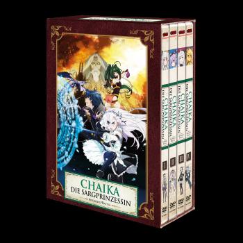 Chaika - Die Sargprinzessin - Avenging Battle (Staffel 2) – Vol. 1-4 Komplett-Set inkl. Sammelschuber - DVD-Edition