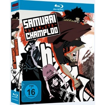 Samurai Champloo - Gesamtausgabe Blu-Ray-Edition
