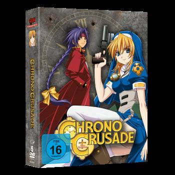 Chrono Crusade - Gesamtausgabe DVD-Edition