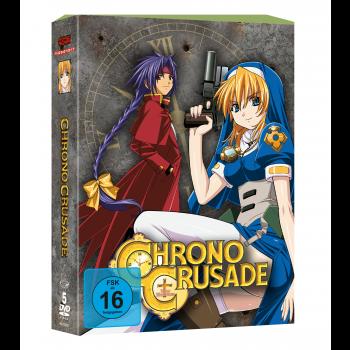 Chrono Crusade - Gesamtausgabe DVD-Edition (VÖ: 29.09.2017!)