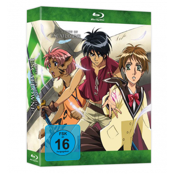 The Vision of Escaflowne Blu-ray Gesamtausgabe (Collector's Edition)