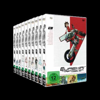 Eureka Seven Komplett-Set, Volume 1 - 10