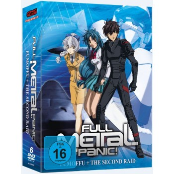 Full Metal Panic! Fumoffu & The 2nd Raid - DVD-Edition