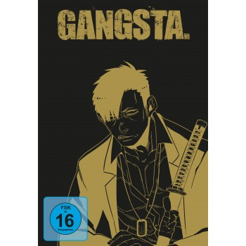 GANGSTA. – Komplett-Set inkl. Sammelschuber - DVD-Edition