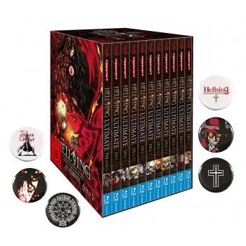 Hellsing Ultimate OVA - MEGA BUNDLE im Schuber Blu-ray - Edition inkl. 6 Hellsing Buttons!