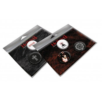 Hellsing Button-Komplettset (6 Buttons)