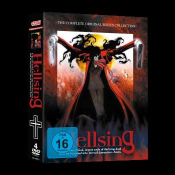 Hellsing TV - Gesamtausgabe DVD inkl. Hellsing Mund- und Nasenmaske!