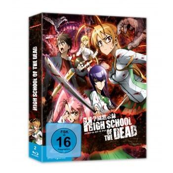"Highschool of the Dead - Blu-ray Box + ""OVA Drifters of the Dead"""