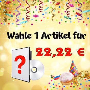 1 Artikel für unschlagbare 22,22 €!