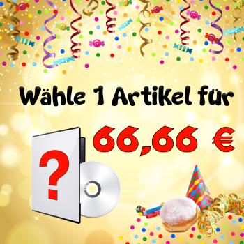 1 sagenhafter Faschings-Artikel für 66,66 €