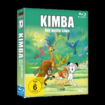 Kimba, der weiße Löwe (1965-1966)  Vol. 2 Blu-ray (VÖ: 23.02.2018!)