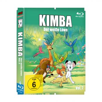 Kimba, der weiße Löwe (1965-1966)  Vol. 2 Blu-ray (VÖ: 26.01.2018!)
